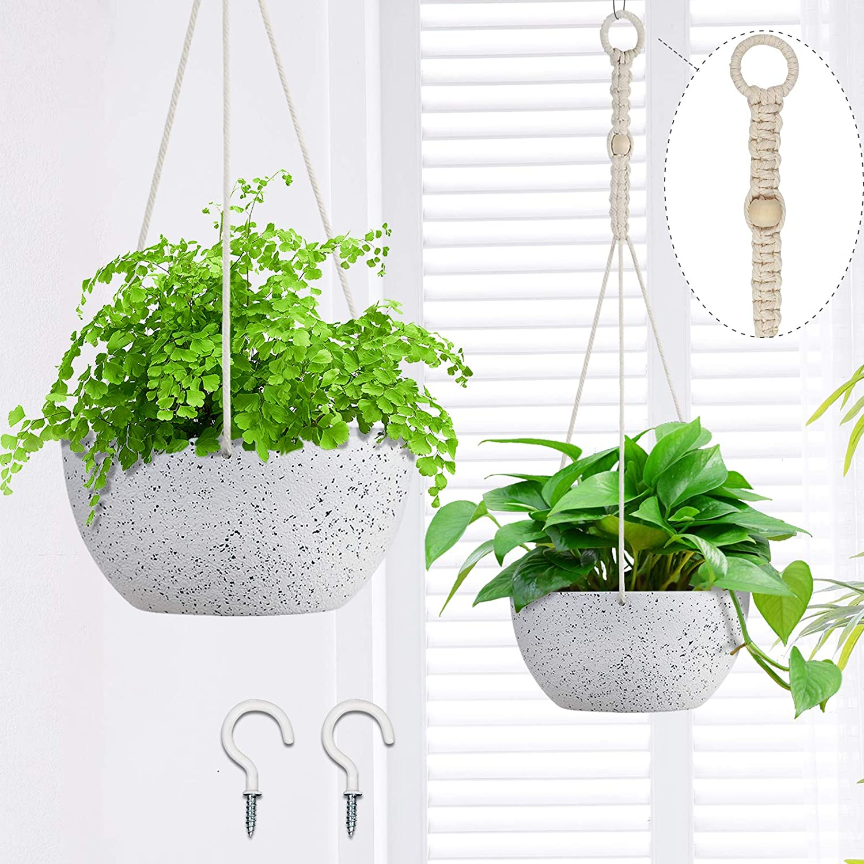 OurWarm 2 Pack Hanging Planters for Hangin Plants Indoor cheap Inch 8 Regular dealer