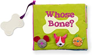 Melissa & Doug K'S Kids Whose Bone? 8-Page Soft Activity Book for Babies & Toddlers