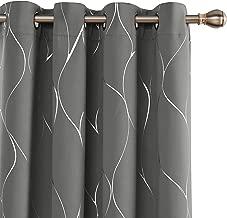 135x245cm Wei/ß Brandsseller /Ösenschal Looping Vorhang Gardine f/ür Stangen ca