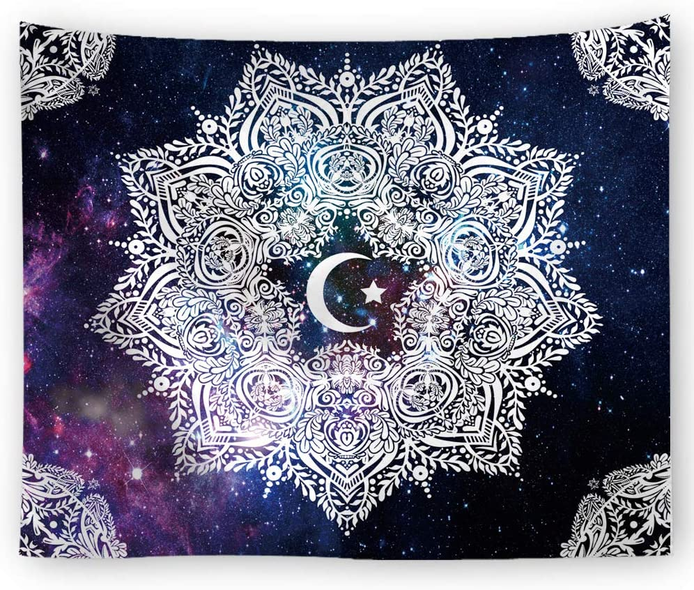 1,100x75cm Starry Sky Tapestry Wall Hanging Aesthetic Tapestry for Living Room Bedroom