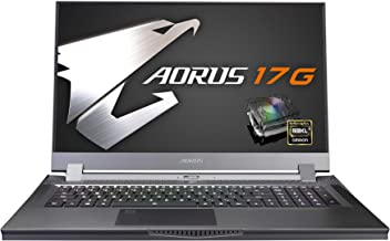 [2020] AORUS 17G (XB) Performance Gaming Laptop, 17.3-inch 144Hz IPS, GeForce RTX 2070 Super Max-Q, 10th Gen Intel i7-1075...