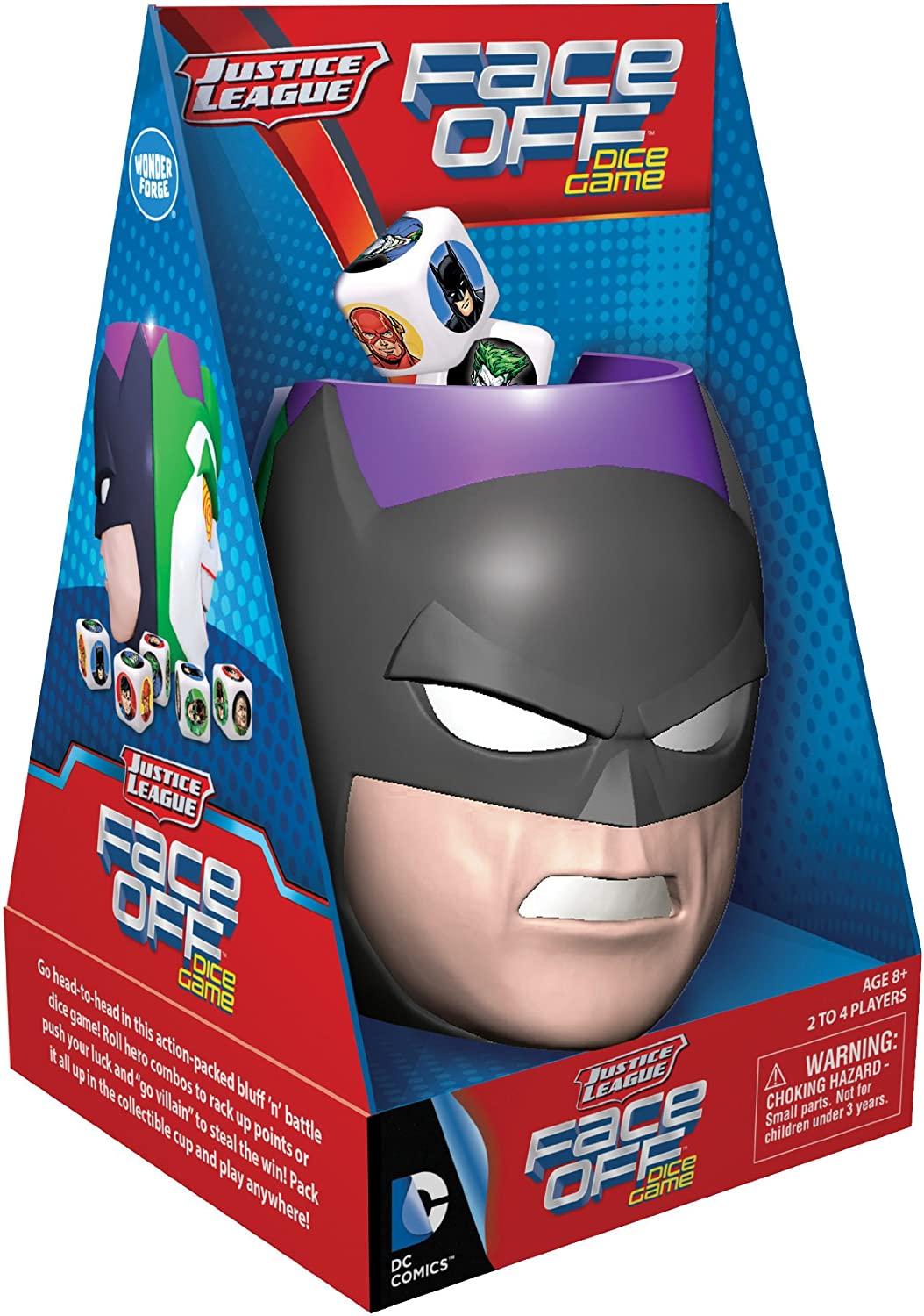 Justice League Face Off Dice Game B00EPUHK7M | | | Lebhaft  435979