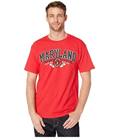 Champion College Maryland Terrapins Jersey Tee (Scarlet 1) Men