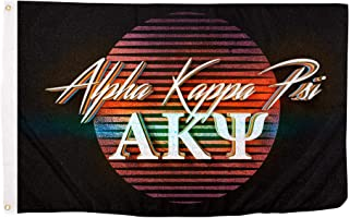 Alpha Kappa Psi 80's Letter Fraternity Flag Banner 3 x 5 Sign Decor AKPsi