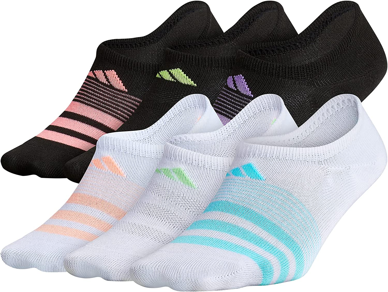 OFFicial mail order adidas Kids-Girl's Superlite Super 6-pair Show No Import Socks