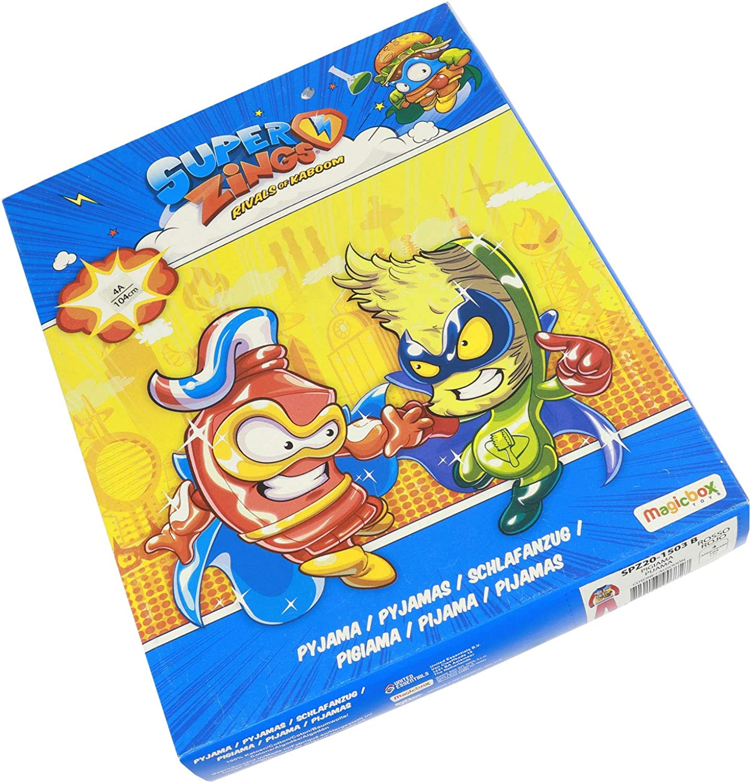 Super Zings - Niño – Pijama Premium juego de camiseta de ...