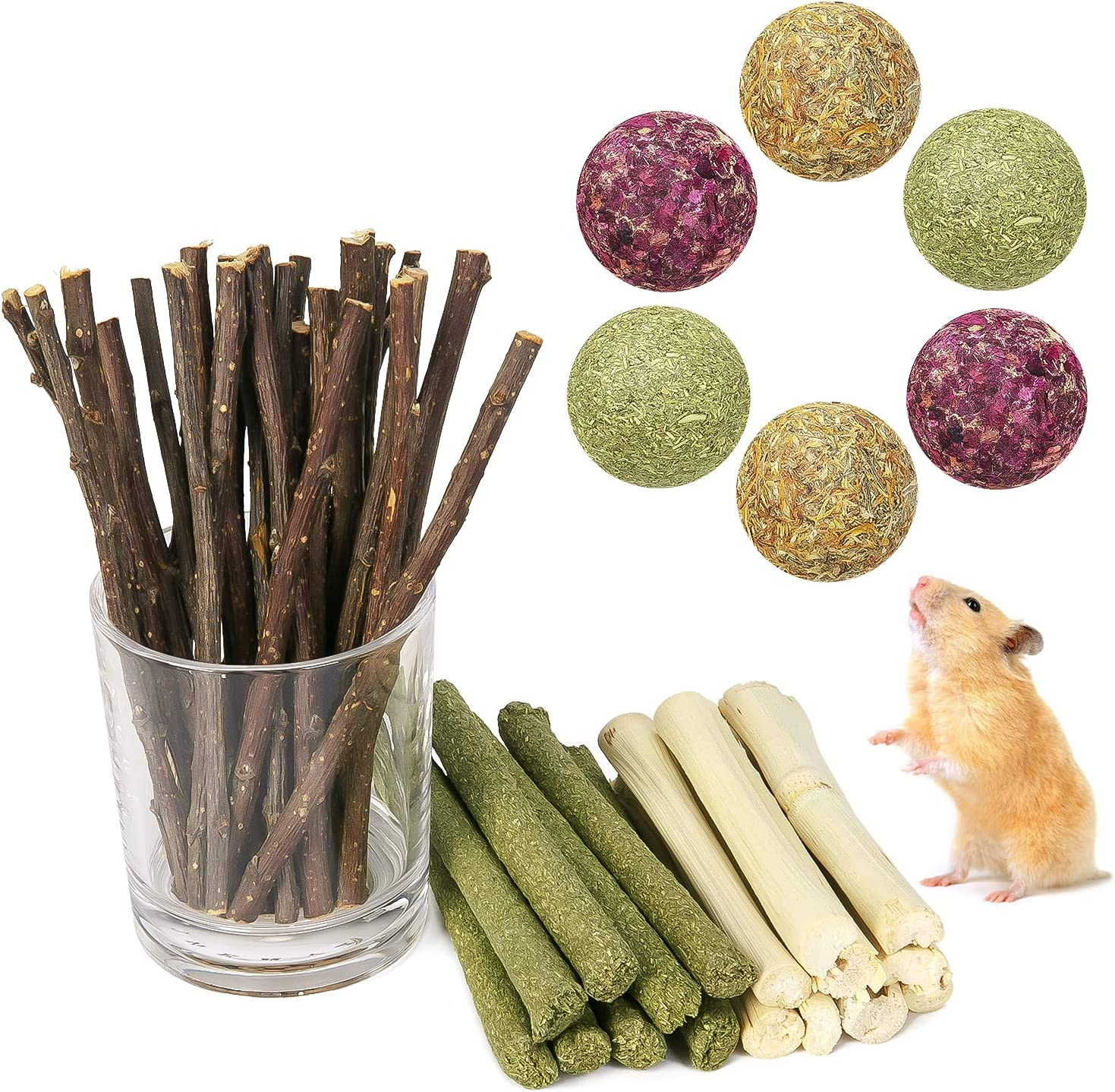 Limited time sale Small Animal Molar Toys Chew Timothy Super beauty product restock quality top Toys,Natural Hamster
