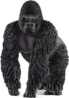 Schleich Gorilla Male Toy Figure, Black