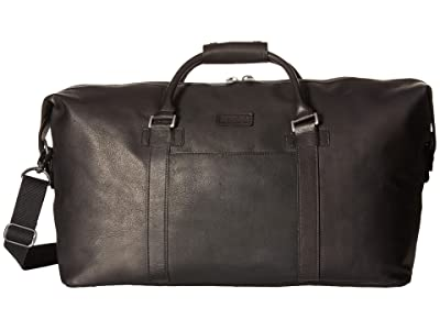 Kenneth Cole Reaction Colombian Leather I Beg To Duffel (Black) Duffel Bags