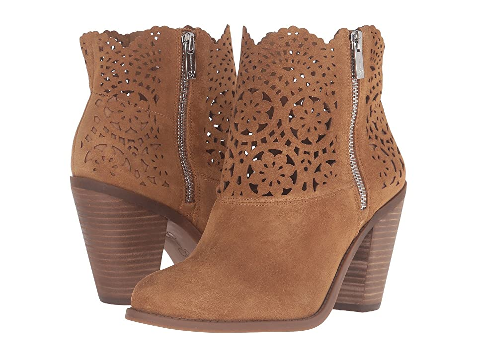 Jessica Simpson Cachelle (Honey Brown Split Suede) Women
