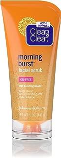 Clean & Clear Morning Burst Facial Scrub For All Skin Types, 5 Fl. Oz.