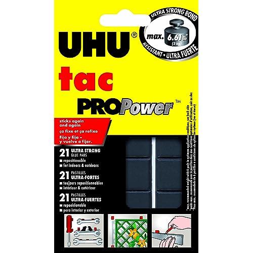 UHU Tac PROPower, 2.1 oz (50g), 21 Pads (48680)