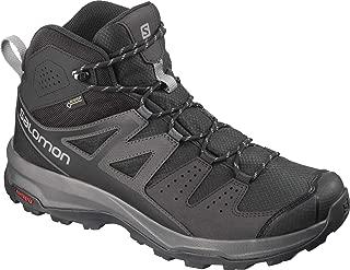 Salomon 男士 X Radiant Mid GTX,徒步旅行和多功能鞋,防水