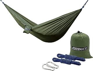WoneNice Camping Hammock – Portable Lightweight Double Nylon Hammock, Best..