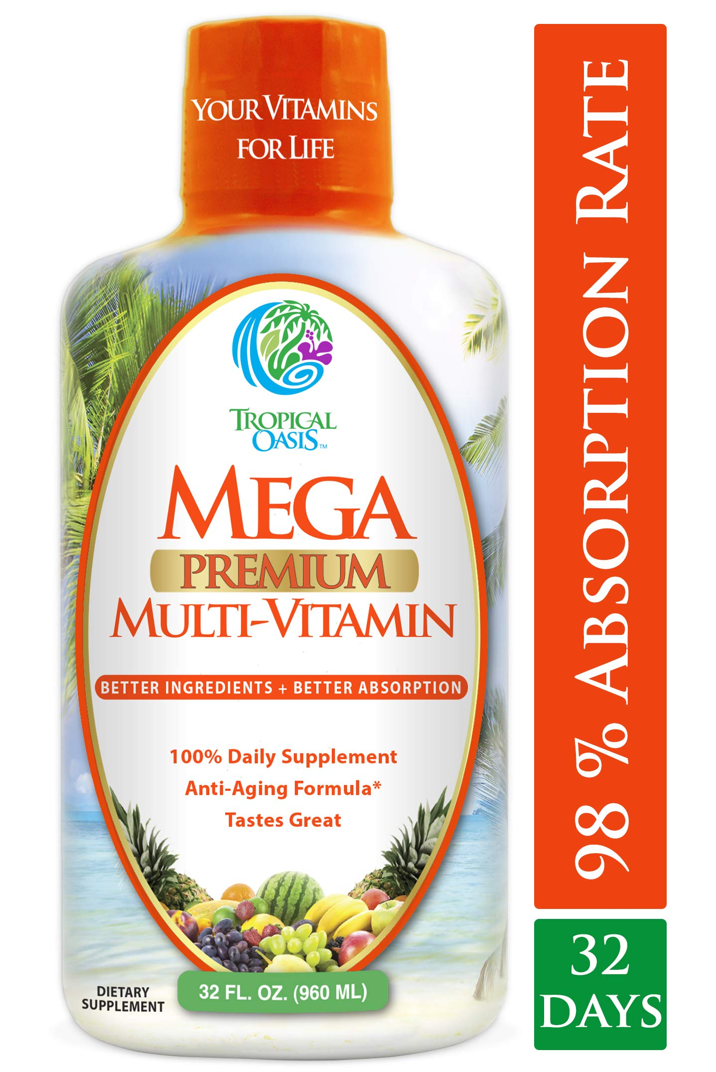 Multivitamin Natural Multi Vitamin Vitamins Absorption