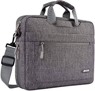 حقيبة كتف من البوليستر لجهاز اللاب توب من موسيسو حقيبة حمل واقية بعمق قابل للتعديل من الأسفل 11.6-13.3 Inch