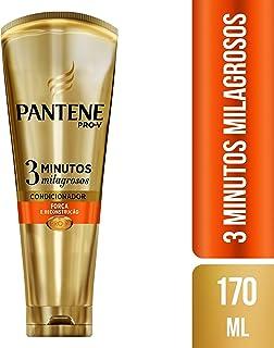 Condicionador Pantene 3 Minutos Milagrosos Força e Reconstrução, 170 ml