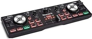 Numark DJ2GO2 Touch - Compacte 2 Deck USB DJ Controller voor Serato DJ met Mixer, Crossfader, Audio Interface en Aanraakge...