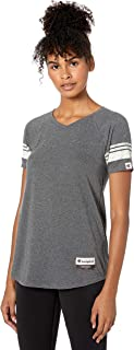 Women's Authentic Originals Triblend Varsity Short Sleeve Tee