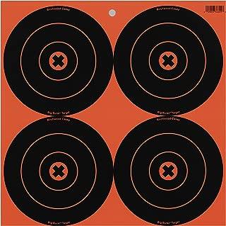Birchwood Casey Big Burst 6-Inch Bull's-Eye, 12 - 6-Inch Revealing Targets