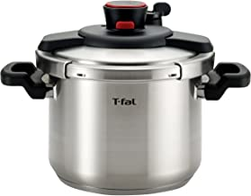 T-fal P45007 Clipso Stainless Steel Dishwasher Safe PTFE PFOA and Cadmium Free 12-PSI..
