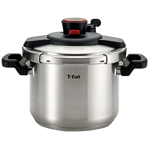 T-fal P45007 Clipso Stainless Steel Dishwasher Safe PTFE PFOA and Cadmium Free 12-