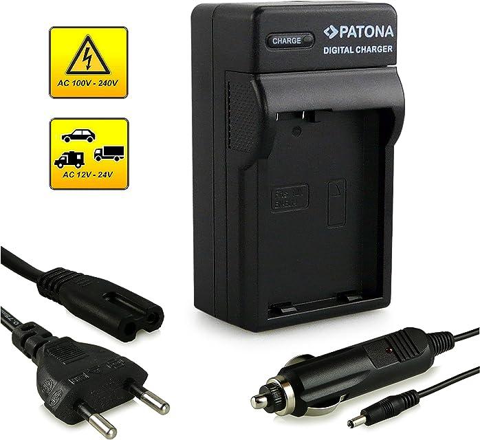 Patona - Cargador EN-EL14 para Nikon D3100/D3200/D5100/D5200 y modelos similares