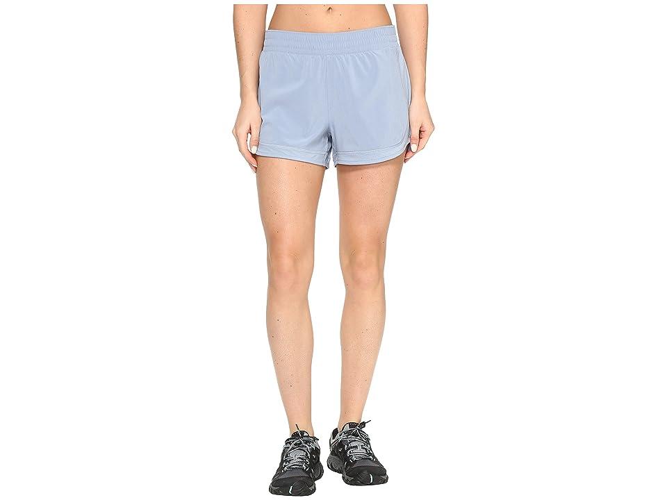 Columbia Trail Flash Shorts (Beacon/Cherry Blossom Zip) Women