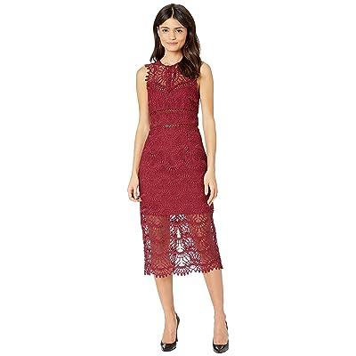 Bardot Mariano Lace Dress (Boysenberry) Women