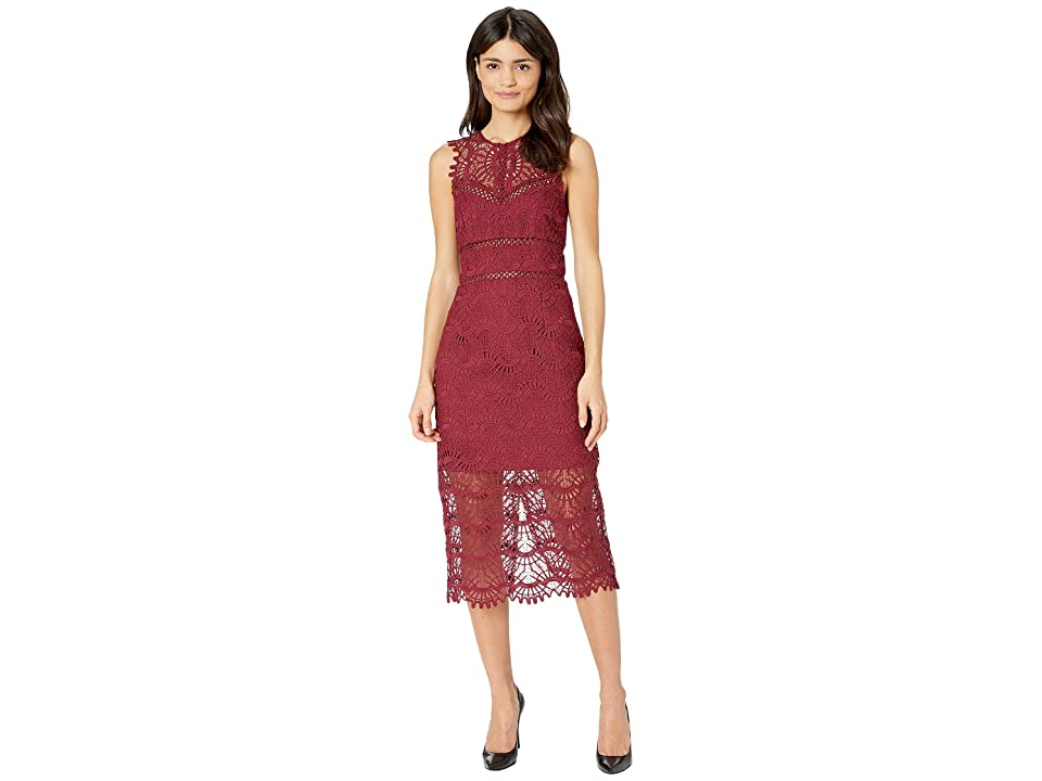 Bardot Mariano Lace Dress (Boysenberry) Women