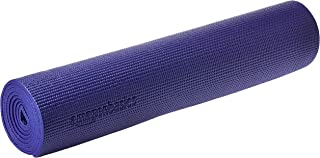 Amazon Basics Tapis de yoga et d'exercice avec sangle de transport, 0,63 cm