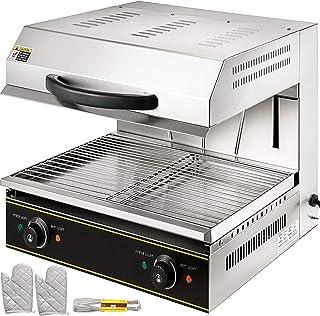Martibeaux Salamandre Electrique Professionnelle Toaster Hamburger Pain Toaster Pour Faire Fondre Du Fromage à Raclette, G...