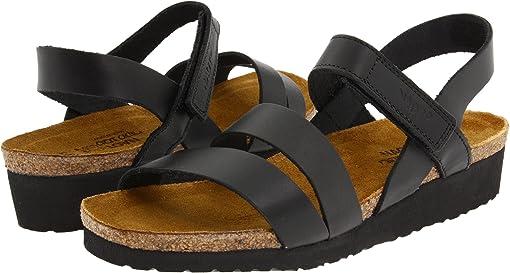 Black Matte Leather