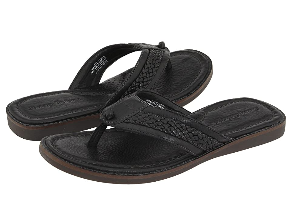 Tommy Bahama Anchors Away (Black Leather) Men