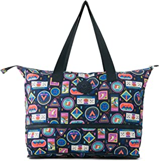 Kipling Imagine Foldable Tote Essential Travel Bag, Wandering Roads