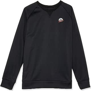 Burton Snowboards Men's Crown Bonded Crew Shirt, True Black, X-Large