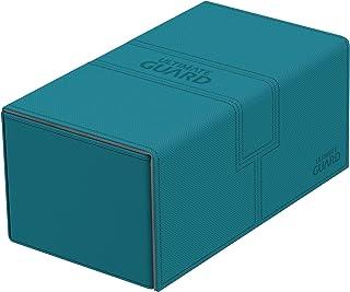comprar comparacion Ultimate Guard Twin Flip´n´Tray Deck Case 200+ Caja de Cartas Tamaño Estándar XenoSkin Gasolina Azul