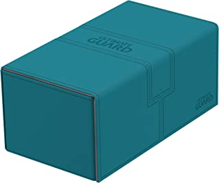 Ultimate Guard Deck Box Twin Flip N Tray Xenoskin 200 Case, Petrol