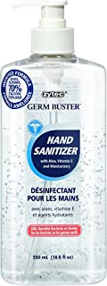 zytec Germ Buster Hand Sanitizer with Aloe (Clear Gel), 550ml
