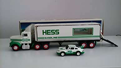 Hess Truck-18 Wheeler and Racer-1992 [Toys & Games] Holiday Gifts