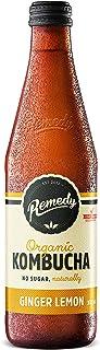 Remedy Organic Kombucha Ginger and Lemon, 330ml