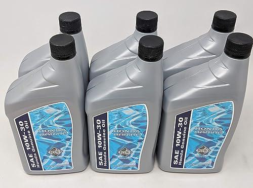 discount Honda 08207-10W30MFC-W SAE 10W-30 online Marine sale Oil (6-Quarts) online sale