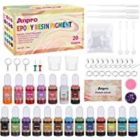 Deals on Anpro 20 Colors Liquid Epoxy Resin Pigment Kit