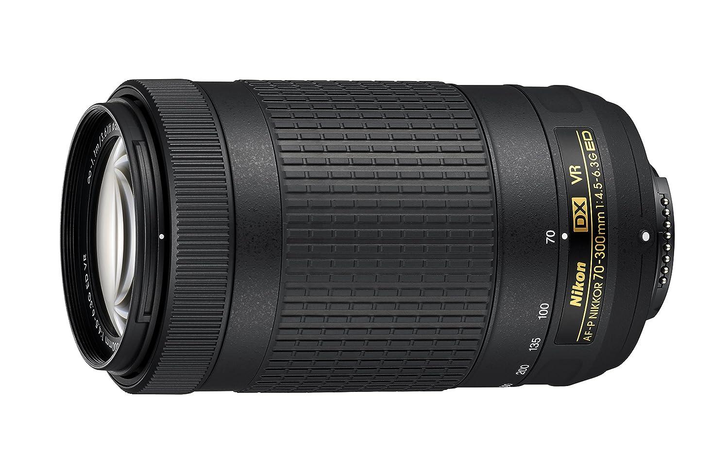 Nikon telephoto Zoom Lens AF-P DX NIKKOR 70-300mm f / 4.5-6.3G ED VR for Nikon DX Format only