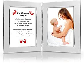 Best Christmas Gift for Mother from daughter, son, baby. Mothers Day Card. Birthday, New Mom, Special Gift for Mom . Mommy & Me Gift. Delightful Poem + Favorite Photo = Custom Poetry Gift
