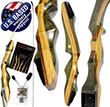 """Southwest Archery Spyder Takedown Recurve Bow – Compact Fast Accurate 62"""" Hunting & Target Bow – Right & Left Hand – Draw ..."""
