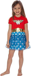 Girls' Wonder Woman 'Costume Logo' Pajama Nightgown