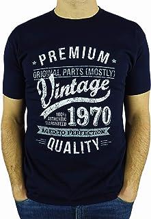 Envejecido a la perfección para hombre nacido 1977 Camiseta 41th Año Cumpleaños Regalo Presente Edad
