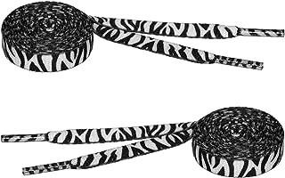 zebra print shoe strings