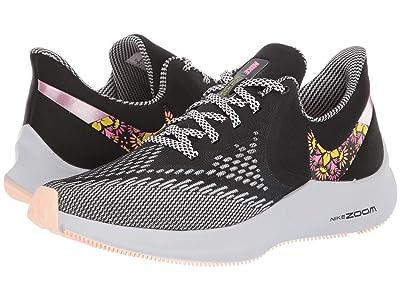 Nike Zoom Winflo 6 SE (Black/Lotus Pink/White/Opti Yellow) Women